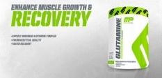 MusclePharm оптимизират глутаминовата доза