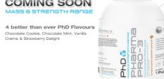 PhD Pro-3 - новият протеин от Англия