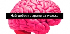 Най-добрите храни за мозъка