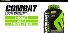Muscle Pharm пускат Combat 100% Casein