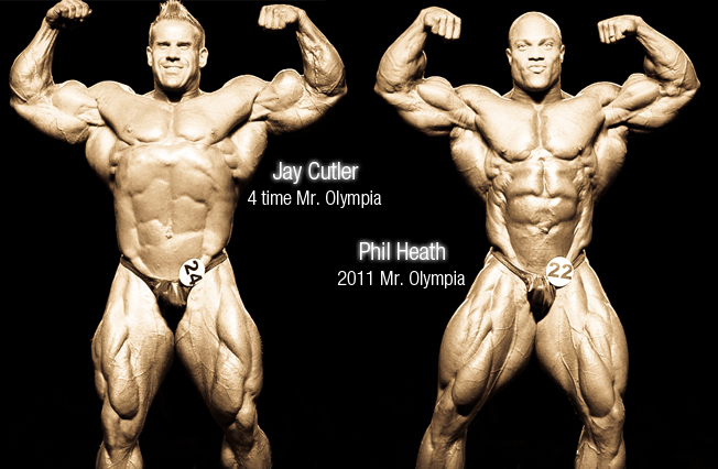 Jay Cutler & Phil Heath