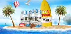 1+1 Free Ultra Premium Whey Build oт Everbuild е бестселър стак!
